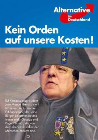Demonstration gegen die Ordensverleihung an José Manuel Barroso