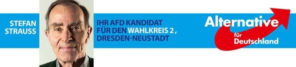 Stefan-Strauss-AfD-Banner