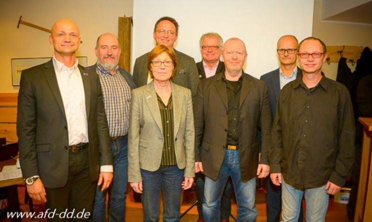 AfD Kreisverband Dresden mit neuem Vorstand