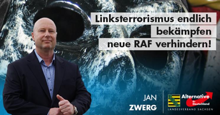 Jan Zwerg: Linksterrorismus endlich bekämpfen!