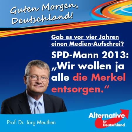 Jörg Meuthen: Gab es vor vier Jahren einen Medien-Aufschrei?