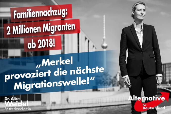 Alice Weidel: Merkel provoziert die nächste Migrationswelle