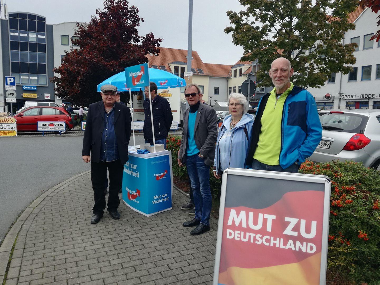 20170916 Weixdorfer Wahlkampfstand2