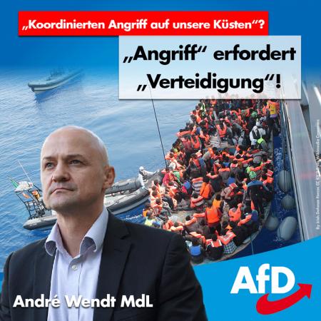 "André Wendt: ""Angriff"" erfordert ""Verteidigung""!"