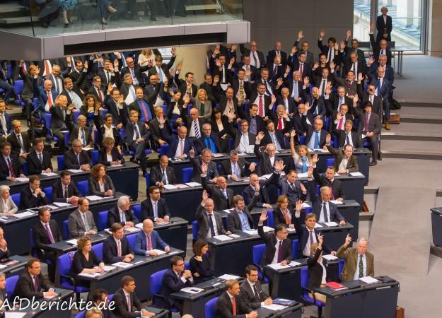 Bundestag: AfD fordert umfassende Grenzkontrollen