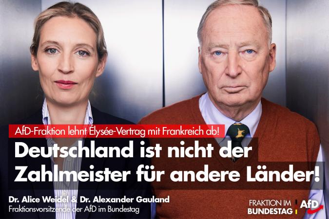 Deutschland ist nicht der Zahlmeister für andere Länder