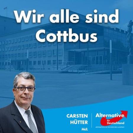 Carsten Hütter: Wir alle sind Cottbus