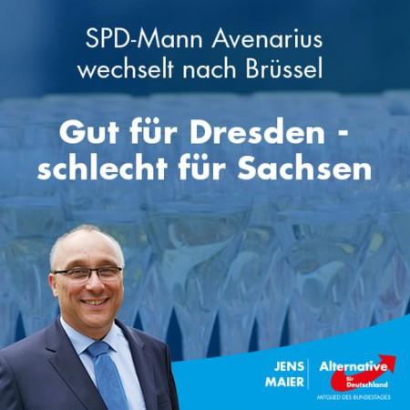 Jens Maier: Gut für Dresden – schlecht für Sachsen