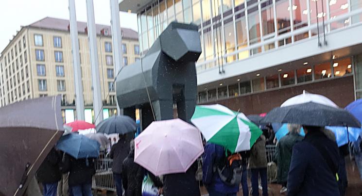 Trojanisches Pferd: Dresden hat ein neues Denkmal