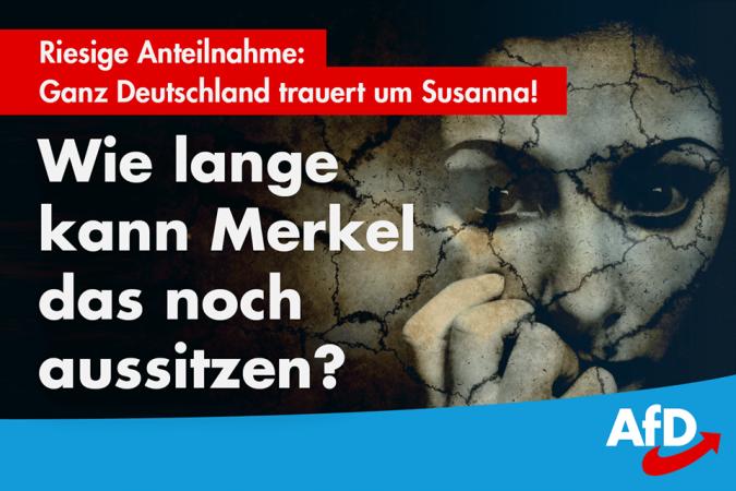 Mord an Susanna (14) – nicht nur politische, sondern auch strafrechtliche Verantwortung?