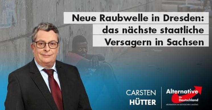 Neue Raubwelle in Dresden – das nächste staatliche Versagen in Sachsen