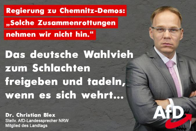 Das Merkel-Regime hat uns zum Schlachten freigeben – wehren sollen wir uns nicht