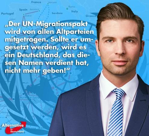 Jan Nolte: UN-Migrationspakt gibt alle Rechte in die Hände der Zuwanderer