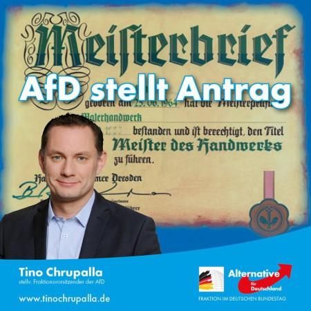 Tino Chrupalla: AfD – Die Partei des deutschen Handwerks