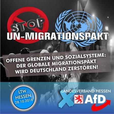 Der Globale Migrationspakt wird Deutschland zerstören!