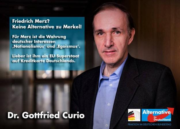 Gottfried Curio: Friedrich Merz? Keine Alternative zu Angela Merkel!