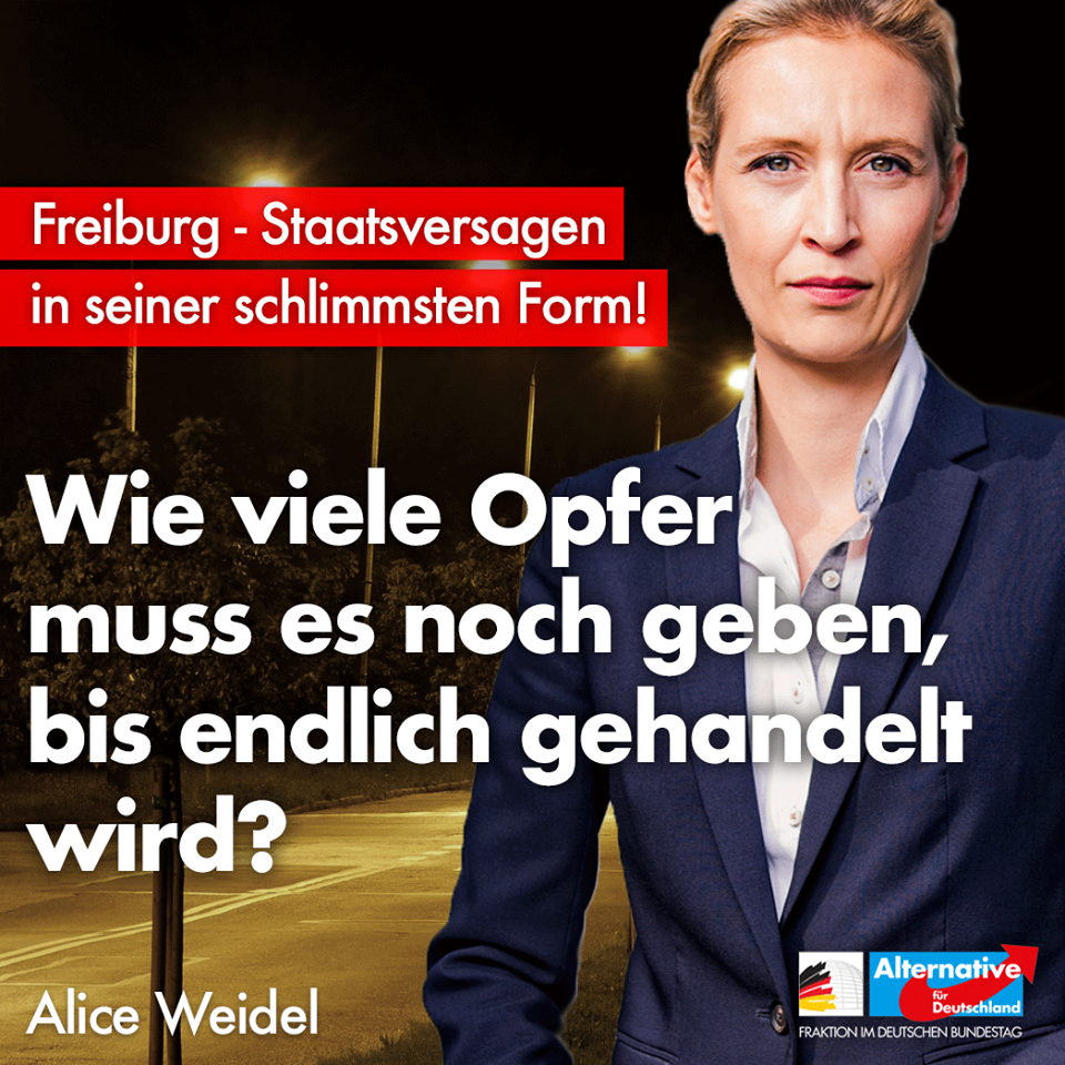 20181102 Alice Weidel Pressekonferenz offenbart erneutes Staatsversagen