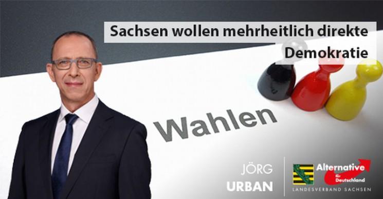 Sachsen wollen mehrheitlich direkte Demokratie