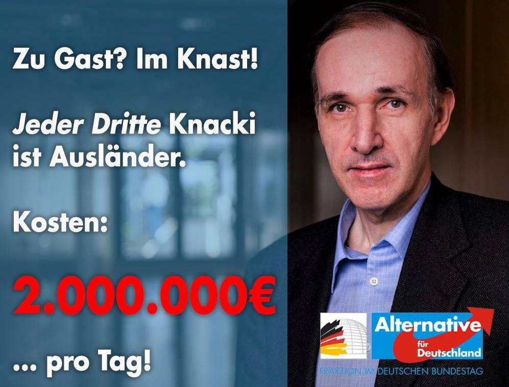 20181220 Gottfried Curio Jeder Dritte Knacki ist Ausländer