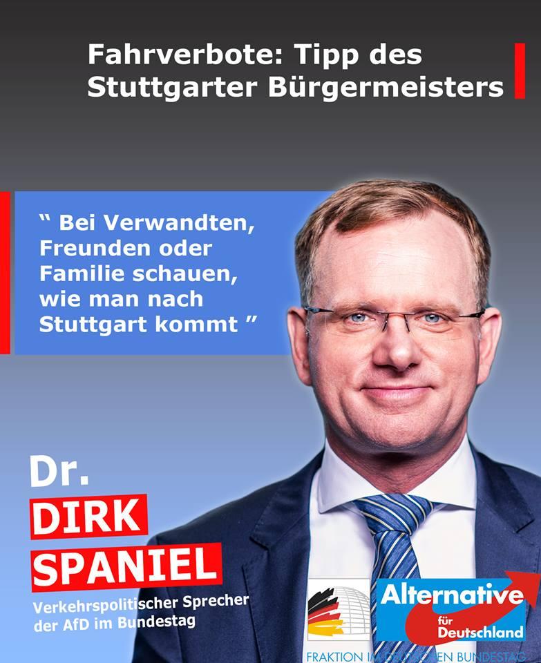 20190103 Dirk Spaniel kommentiert die Diesel-Fahrverbote