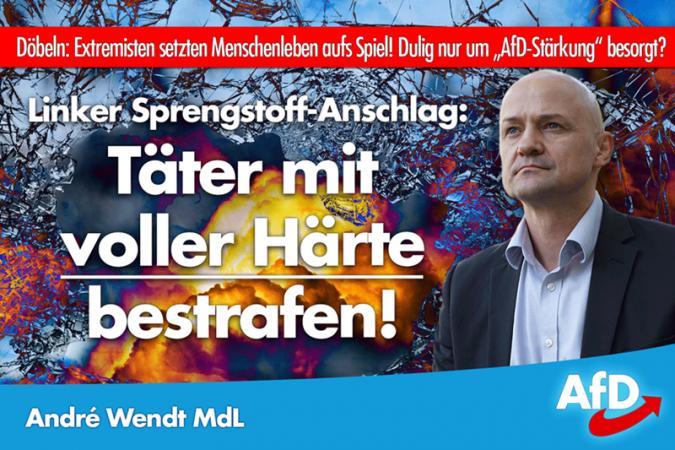 André Wendt: Linker Terror in Döbeln!