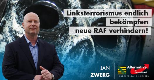 20190109 Jan Zwerg Linksterrorismus endlich bekämpfen