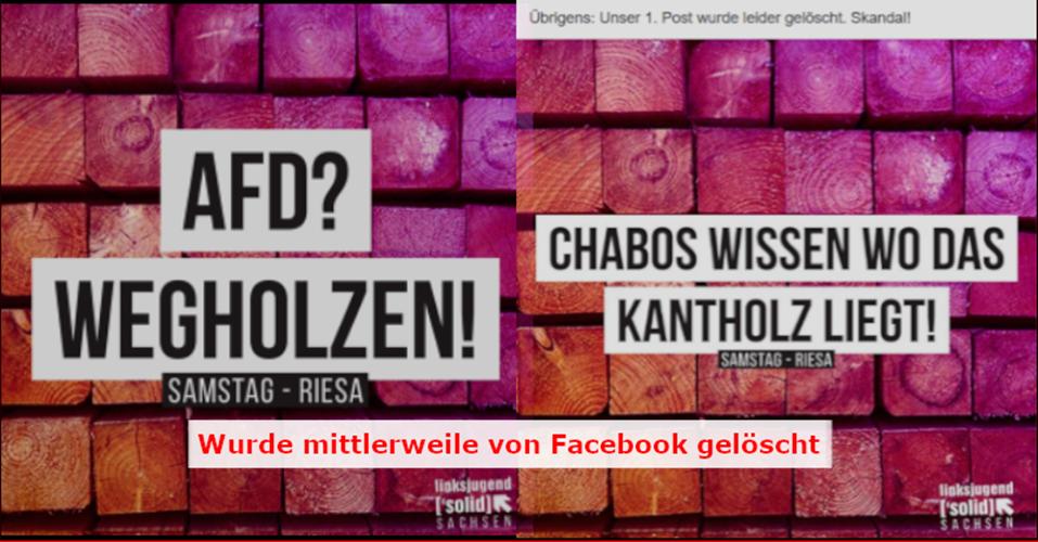 20190113 Jens Maier Die Fratze der Linken
