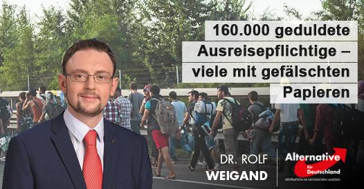 20190203 Rolf Weigand 160.000 geduldete Ausreisepflichtige