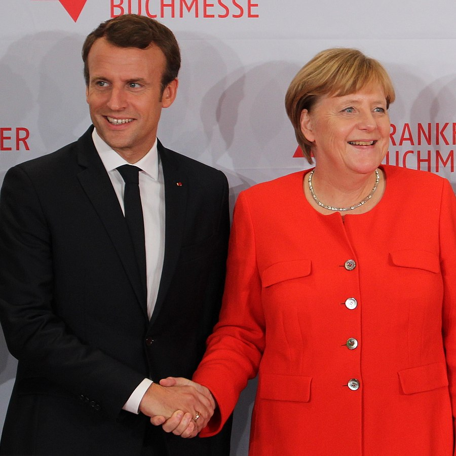20190517 Macron Merkel Buchmesse2017