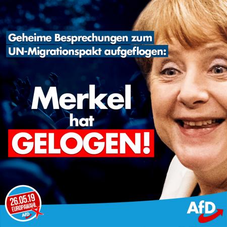 Merkel hat gelogen: Geheime Besprechungen beim UN-Migrationspakt sind Fakt
