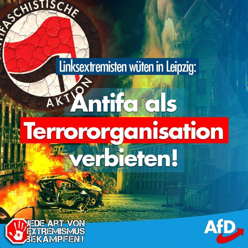 20190604 Carsten Hütter - Linksextremisten wüten in Leipzig
