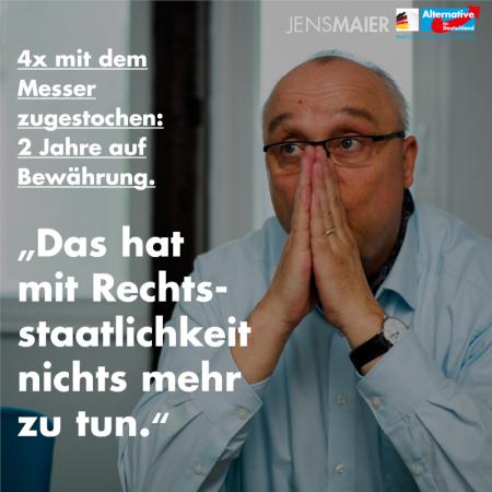 Jens Maier: Das hat mit Rechtsstaatlichkeit nichts mehr zu tun
