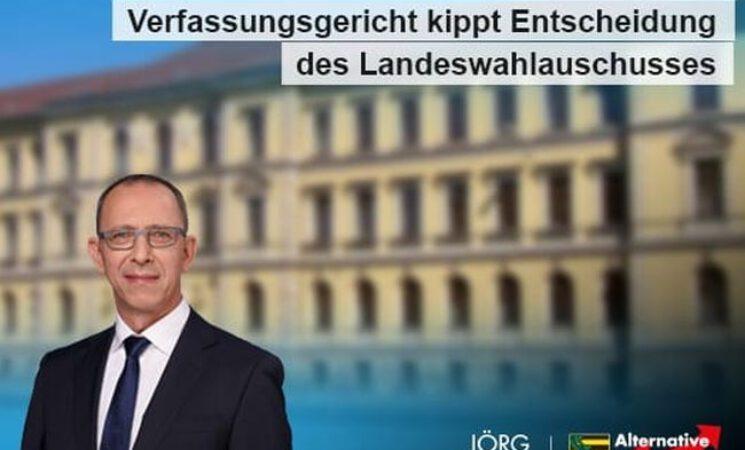 Verfassungsgericht kippt Entscheidung des Landeswahlauschusses  - Liste der AfD bis einschließlich Platz 30 zugelassen