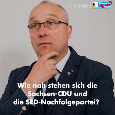 Jens Maier: Wie nah stehen sich die Sachsen-CDU und die SED-Nachfolgepartei?