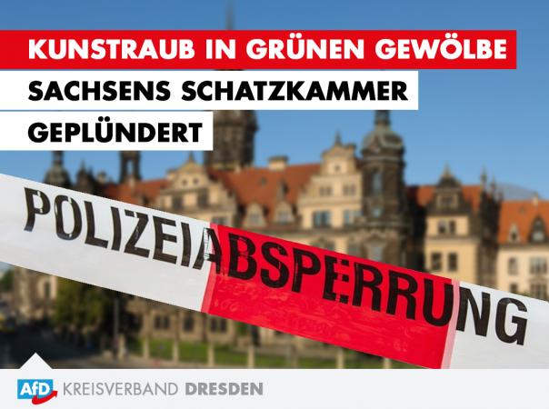 Kunstraub in Grünen Gewölbe - Sachsens Schatzkammer geplündert!