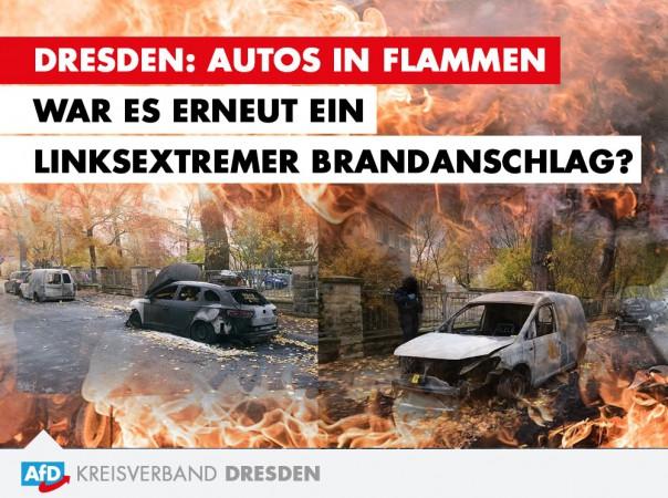 Stephan Rose: Autos in Flammen - war es erneut ein linksextremer Anschlag?
