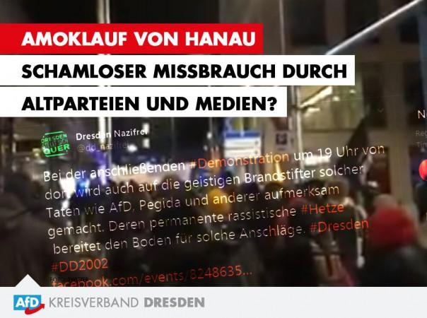 Amoklauf von Hanau - Schamloser Missbrauch durch Altparteien und Medien?