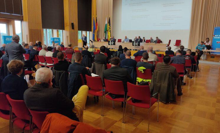 Kreisverbände Dresden und Bautzen wählen Direktkandidaten für die Bundestagswahl