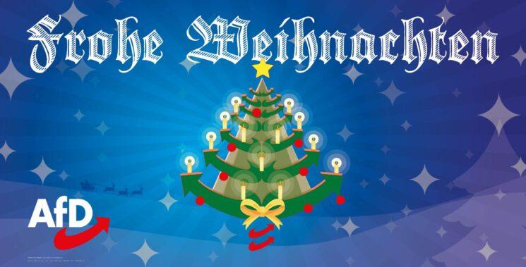 Schöne Weihnachten und einen guten Rutsch ins neue Jahr