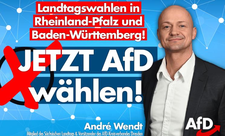 Wir wünschen den Kollegen in Rheinland-Pfalz und Baden-Württemberg einen erfolgreichen Tag!