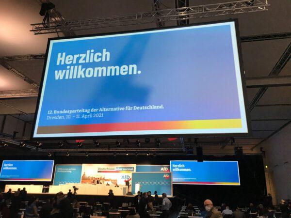 12. Bundesparteitag der AfD in Dresden