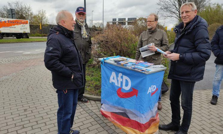 Wahlkampfauftakt für die Bundestagswahl
