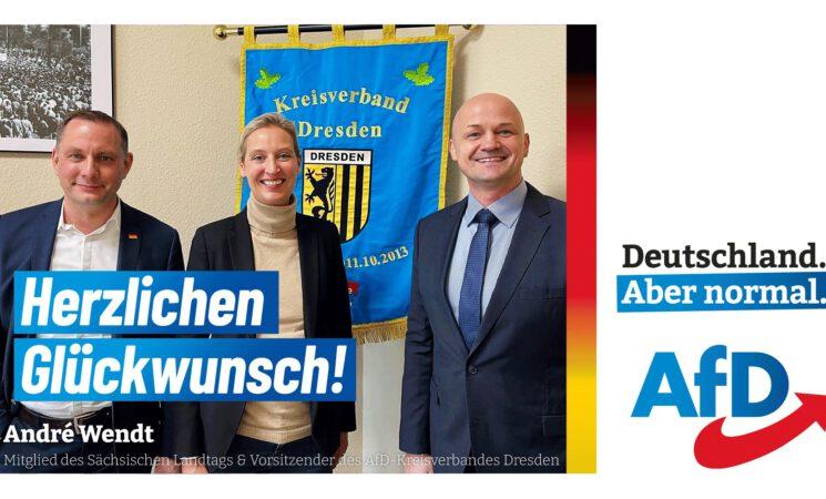 Unser Spitzenduo für die kommende Bundestagswahl. Zeit für Veränderungen. Zeit für die AfD.