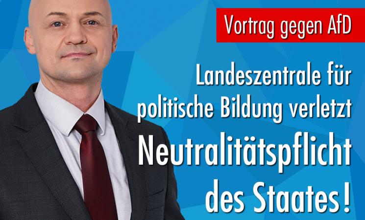 Offener Brief an die Sächsische Landeszentrale für politische Bildung