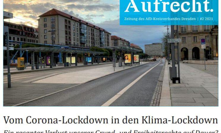 Die neue Zeitung der AfD-Dresden. Aufrecht #2/21