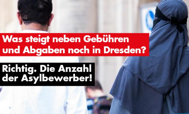 Was steigt neben Gebühren und Abgaben noch in Dresden?