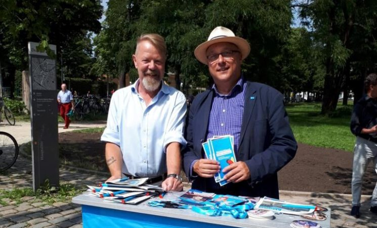 Unsere beiden Bundestagskandidaten für Dresden im MDR Kandidatencheck